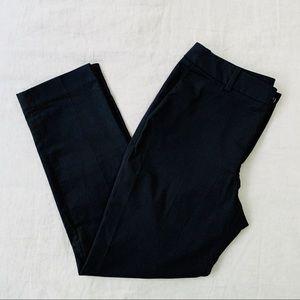 Uniqlo Black Stretch Straight Leg Trouser